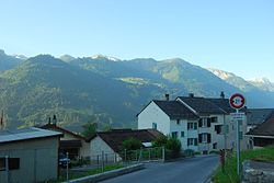 Skyline of Schwändi