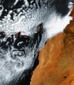 Scia vorticosa di Karman, isole Canarie ESA322556.tiff