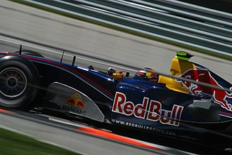 Scott Speed - Speed as Red Bull's third driver at the 2005 United States Grand Prix