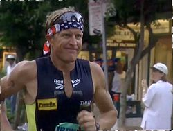 beim Ironman Hawaii, 1999