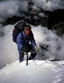 American mountaineer and mountain guide