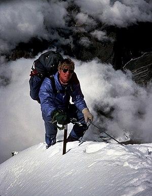 Scott Fischer - Image: Scott on Fang (Wes) 1984 Cropped