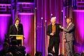 Sean Barlow Banning Eyre and Michael Jones at the 74th Annual Peabody Awards.jpg