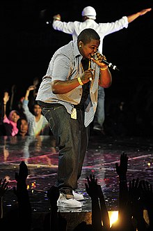 Kingston performing at the 2009 Shout Awards at Stadium Putra Bukit Jalil in Malaysia