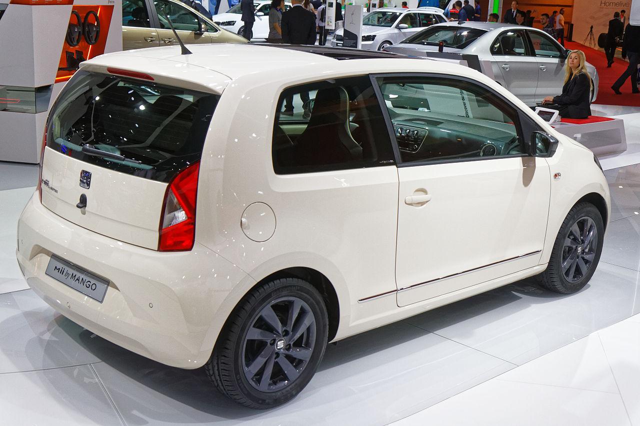 Image of Seat Mii by MANGO - Mondial de l'Automobile de Paris 2014 - 004