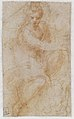Seated Goddess Diana (recto); Studies of a Nude Male Torso Seen from the Rear, and a leg (verso) MET DR202.jpg