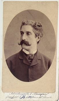 Sebastianutti, Guglielmo (1825-1881) & Benque, Franz (1841-1921) - Giovanni Verga.jpg
