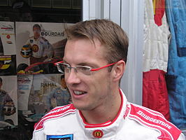 Sébastien tijdens de Dutch Champ Car Grand Prix.