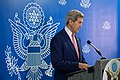 Secretary Kerry Delivers a Statement to the U.S. and Somali Media in Mogadishu (17193036088).jpg