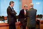 Secretary Kerry Speaks with Special Representative Olson and Ambassador McKinley (29832138890).jpg