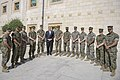 Secretary Pompeo Thanks U.S. Marine Security Guards at U.S. Embassy Jordan (27930918098).jpg