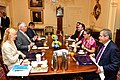 Secretary Tillerson Hosts a Working Breakfast for Mexican Foreign Secretary Videgaray and Canadian Foreign Minister Freeland in Washington (34626669270).jpg