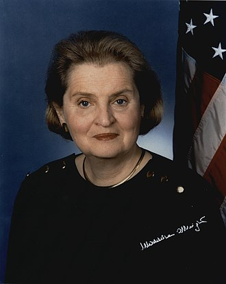 Colorado Women's Hall of Fame - Image: Secretary of State Madeleine Albright