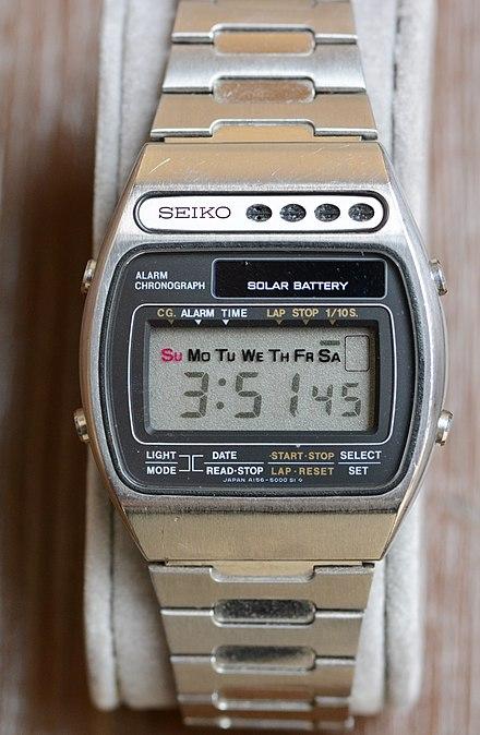 Solar Powered Watch Wikiwand
