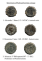 Seleucid serrate bronze coinage.png