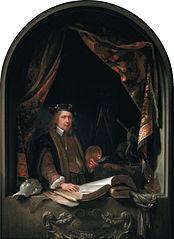 Self-portrait of Gerard Dou