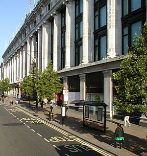 Selfridges - Selfridges flagship store in London