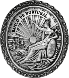 Seal of the bank; designed by Domingos Sequeira, 1846.
