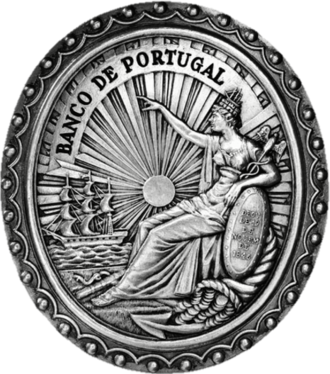 Banco de Portugal - Image: Selo do Banco de Portugal (1846) Domingos Sequeira