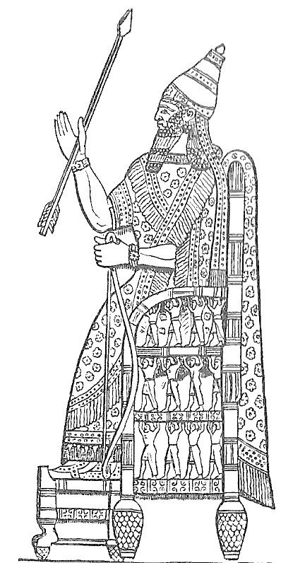 Sennacherib throne