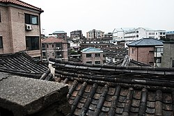 A village in Jongro-gu, Seoul.