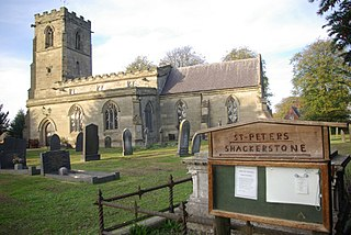 Shackerstone Human settlement in England