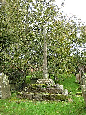 Shaft and base of preaching cross - geograph.org.uk - 1024924.jpg