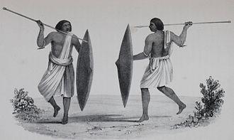 Shaigiya tribe - Shaigiya fighters in 19th century