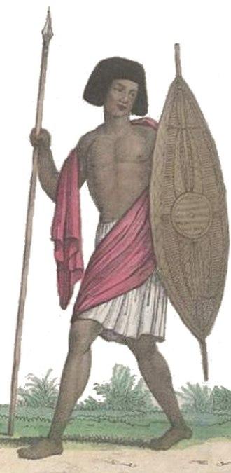 Shaigiya tribe - A Shaigiya man at the time of the Egyptian invasion.