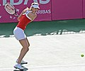 Sharapova hitting backhand.JPG