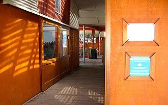 Shearwater, The Mullumbimby Steiner School - Image: Shearwater Art Walkway 1