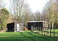 Sheds in paddock - geograph.org.uk - 1596025.jpg