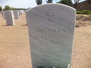 Sherman Hemsley - Sherman Hemsley marker