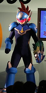 Shooting Star Rockman minigame event, Tokyo Game Show 20060922 (cropped).jpg