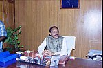 Shri Kantilal Bhuria assumes the charge of the Union Minister for Agriculture and Food in New Delhi on May 25, 2004.jpg