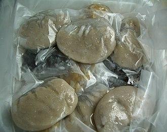 Teochew cuisine - Image: Shui jing bao zz
