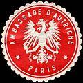 Siegelmarke Ambassade d'Autriche - Paris W0223694.jpg