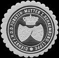 Siegelmarke Dienst I.H. der Fürstin Mutter zu Schaumburg-Lippe W0350348.jpg