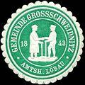 Siegelmarke Gemeinde Grossschweidnitz Amtsh. Löbau W0314180.jpg