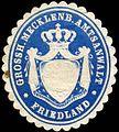 Siegelmarke Grossherzoglich Mecklenburgische Amtsanwalt - Friedland W0215719.jpg