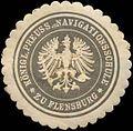 Siegelmarke Königl. Preuss. Navigationsschule zu Flensburg W0308840.jpg