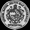 Siegelmarke Königlich Bayerische Julius - Max Universität - Würzburg W0233650.jpg