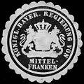 Siegelmarke Königlich Bayerische Regierung von Mittelfranken W0261353.jpg