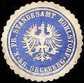 Siegelmarke Königlich Preussisches Standesamt Rohlstorf - Kreis Segeberg W0220786.jpg