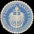 Siegelmarke K. Marine Kommando S.M.S. Charlotte W0363983.jpg