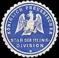 Siegelmarke K. Pr. Stab der 111. Infanteriedivision W0285477.jpg