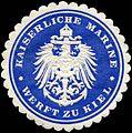 Siegelmarke Kaiserliche Marine - Werft zu Kiel W0224055.jpg