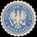 Siegelmarke Schulzenamt Polleben Mansfelder Seekreis W0382841.jpg
