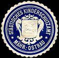 Siegelmarke Städtisches Kinderschutzamt - Mährisch - Ostrau W0255133.jpg