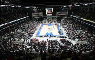 Siemens Arena - Image: Siemens Arena Basketball